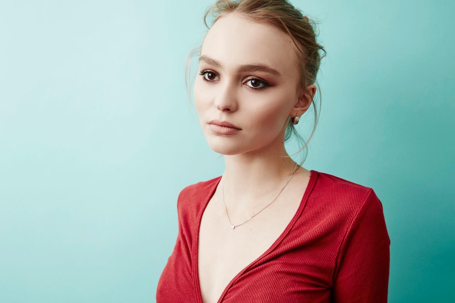 lily rose depp says that acting sets her free grazia