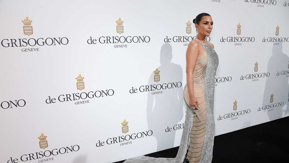 Kim Kardashian Used This Hack To DIY Her Cannes Gown | Grazia