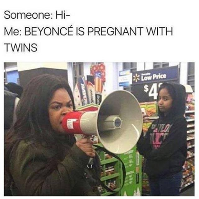 beyonce pregnant meme?quality=50&format=jpg the funniest memes, parodies and reactions to beyoncé's pregnancy