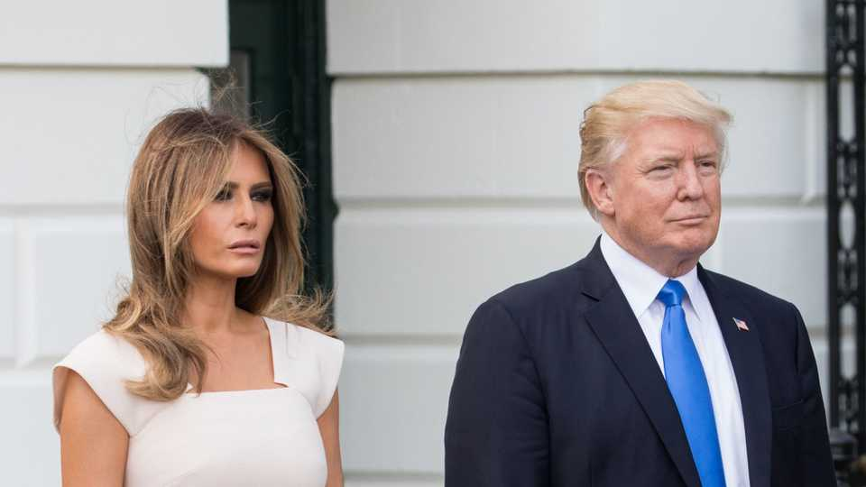 Image result for free image of melania and donald