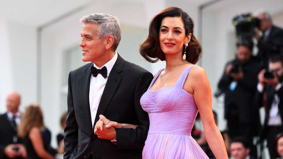 George Clooney Reveals His Very Romantic Proposal Story Grazia