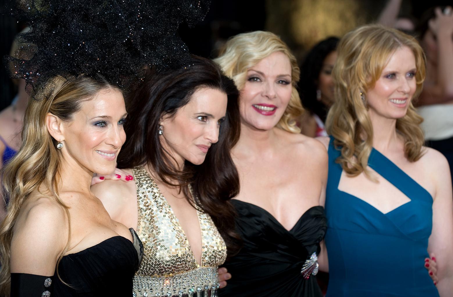 Kim cattrall in sex and the city