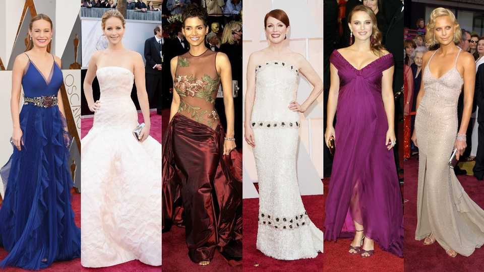 What Makes A Winning Oscar Dress? See What Every Best Actress Winner ...