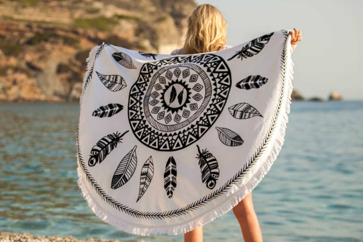 The Prettiest Beach Towels To Take On Holiday