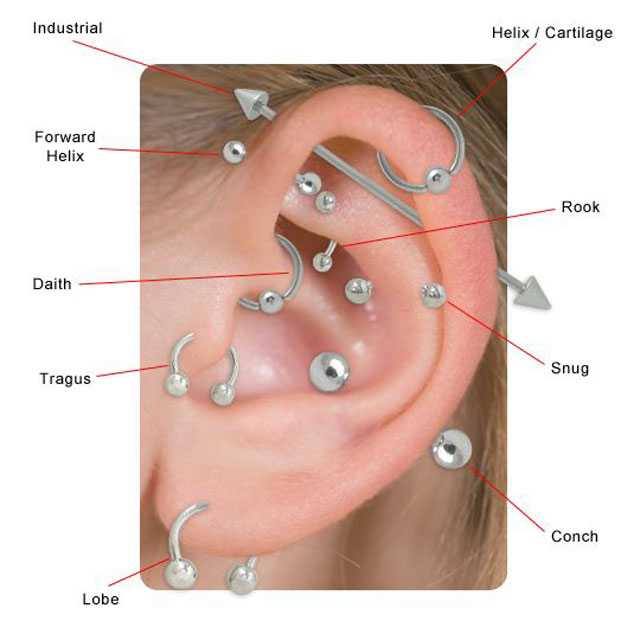 Helix Cartilage Piercing Jewelry 1000 Ideas About Helix