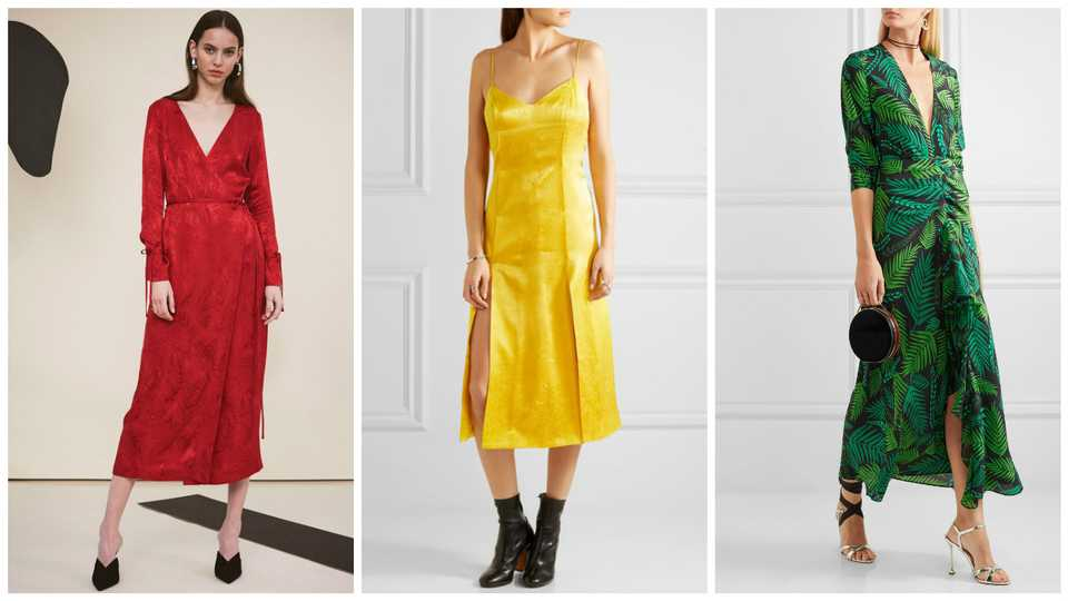 12 stylish wedding guest dresses you 39 ll actually want to for Dresses you wear to a wedding as a guest