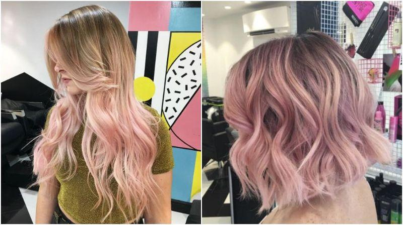 Can I get blush pink balayage?