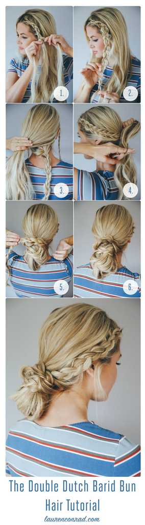 Long Hair Updos 9 Of The Best Pinterest Tutorials Grazia