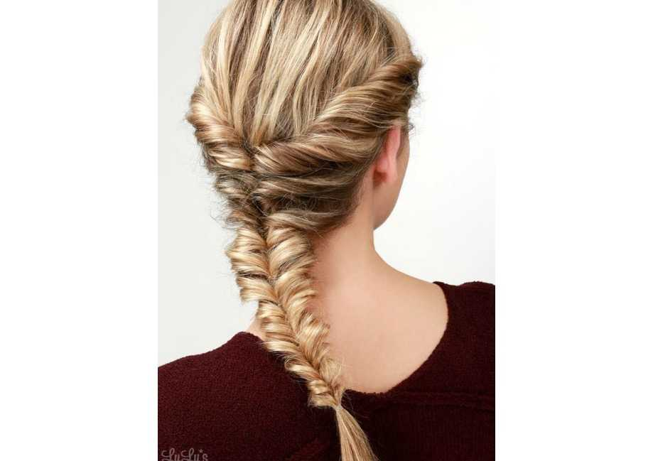 Long hair updos 9 of the best pinterest tutorials grazia this french plait meets fishtail updo is not only a really pretty hair do to try its also super easy perfect for those who love a quick but sophisticated urmus Choice Image