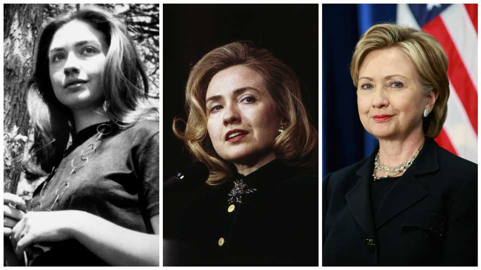 A Brief History Of Hillary Clinton\'s Hair | Grazia