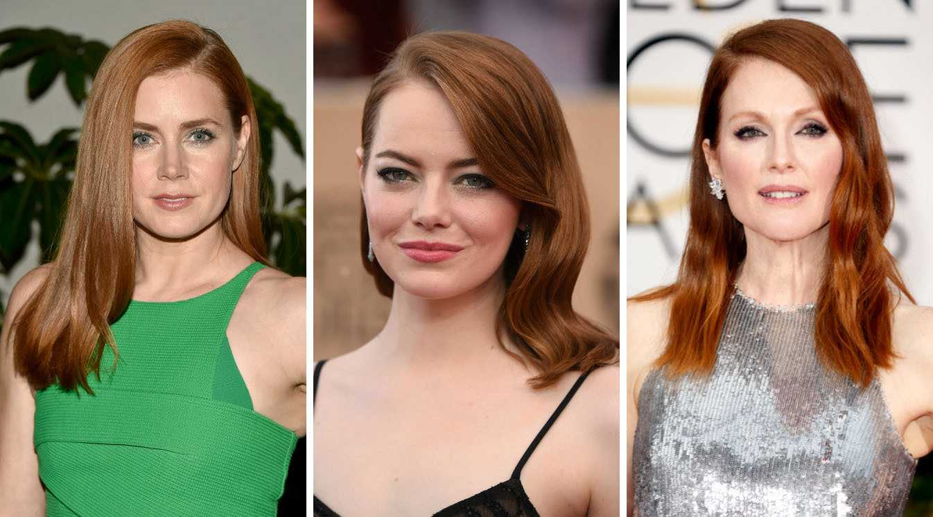 Redheads are taking over Hollywood, but whose is a dye job?