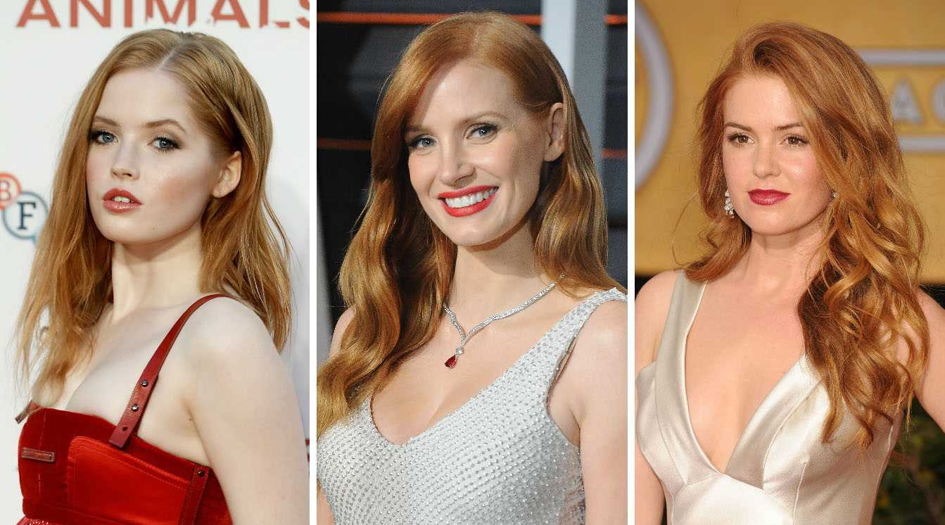 How Many Of Hollywoods Redheads Are Naturally Ginger Grazia