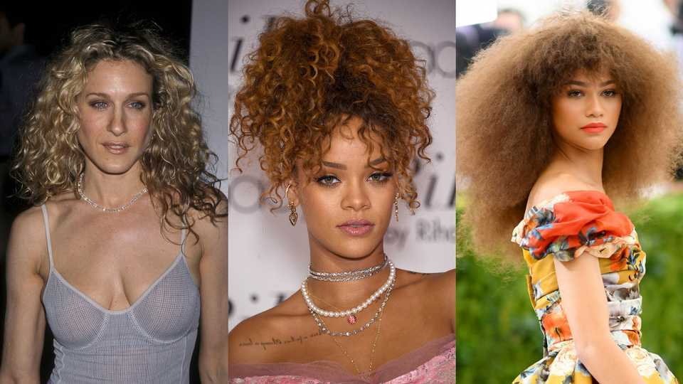 11 Celebrities With Curly Hair How They Style It Grazia