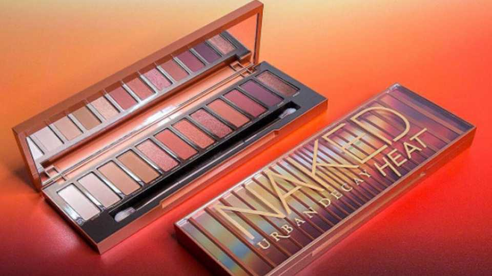 Urban Decay's New Naked Palette Is Here To Heat Up Your