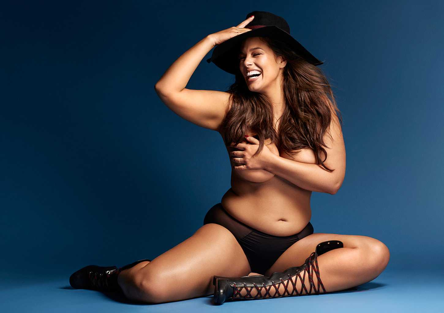 Ashley Graham I Was Told Skinny Equals Success Grazia
