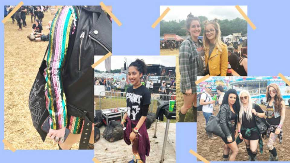 Meet the cool af girls at download festival who didnt give a toss dripping with laid back mud crusted sass voltagebd Images