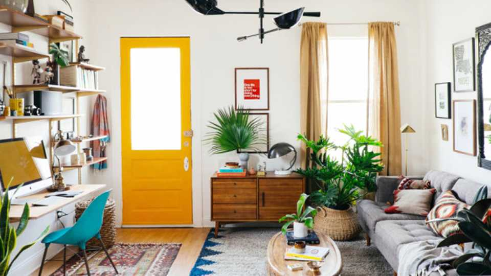 10 Ideas To Decorate Your Small Living Room In Your Rented Flat | Grazia