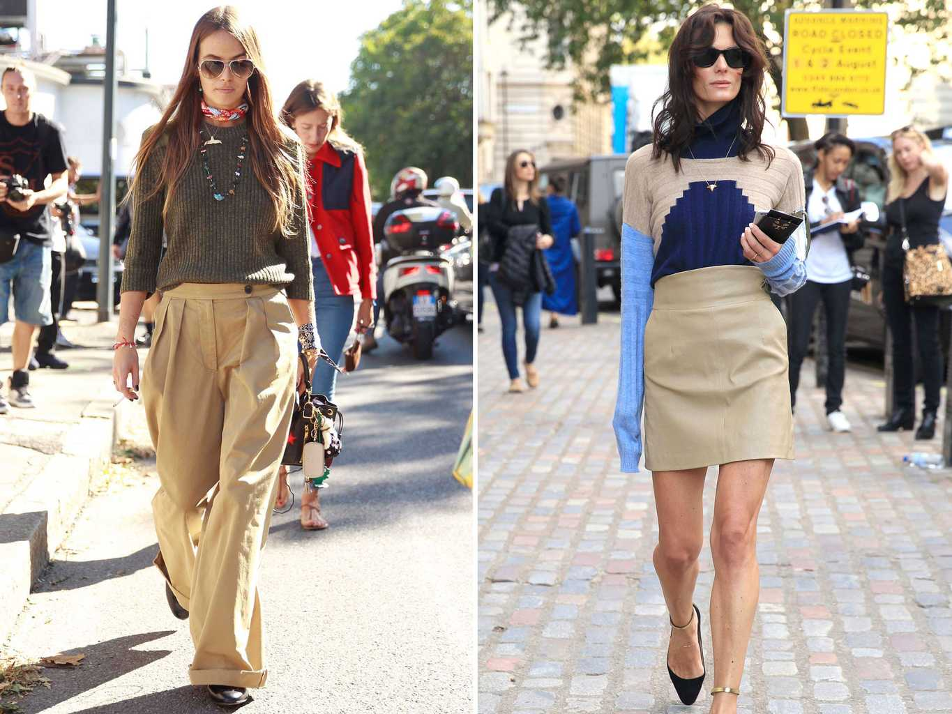 9 Street Style Trends That Will Define Autumn Winter As Seen At Fashion Month Grazia