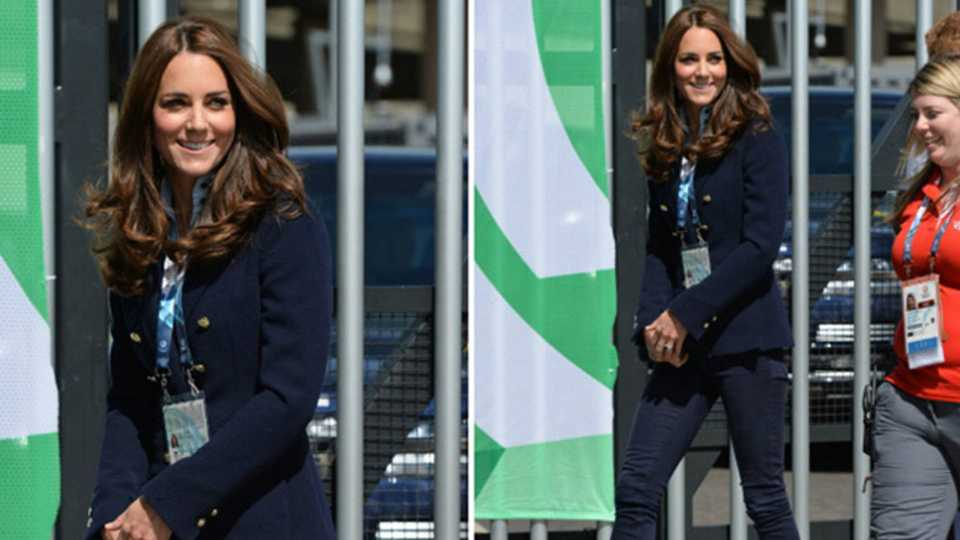 Duchess Of Cambridge Rewears Her Favourite Outfit At Commonwealth Games