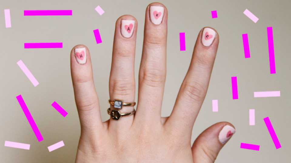 A Super Easy Spring Nail Art Tutorial To Pass The Time This Loooong