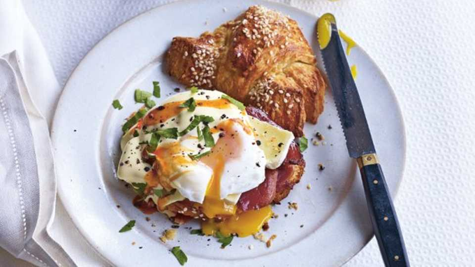 Make the most outrageous brunch youve ever seen because why not new recipe book dirty food gives us the paris style eggs benedict and omg forumfinder Image collections