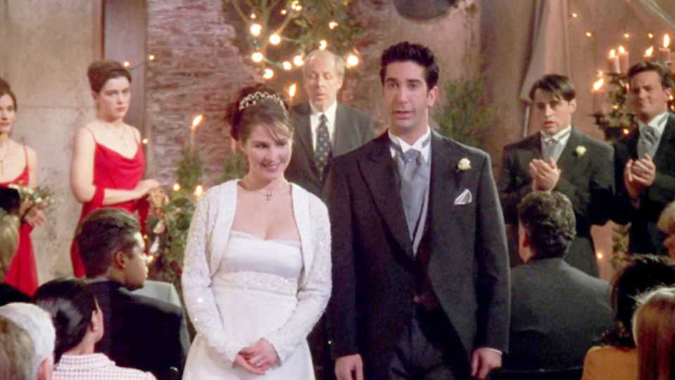 This Is The Massive Mistake Friends Made In Ross And Emilys Wedding