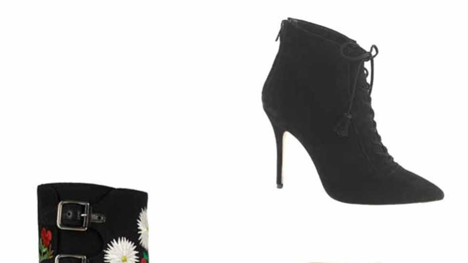 Top 20 Heeled Ankle Boots: Shopping Fix