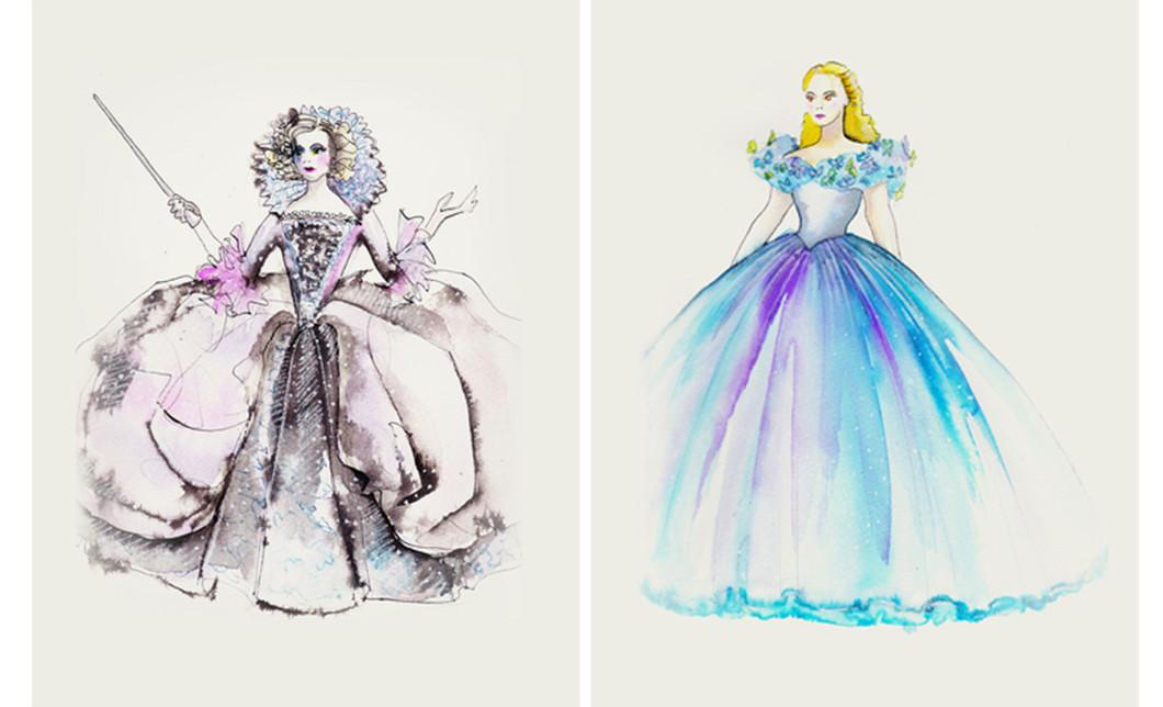 EXCLUSIVE Cinderella Costume Designer On Lily James Crying  sc 1 st  Grazia Daily & EXCLUSIVE: Cinderella Costume Designer Sandy Powell Tells Us About ...
