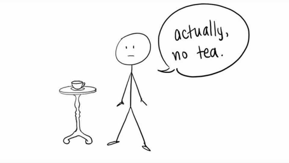 Don T Force Someone To Drink Tea