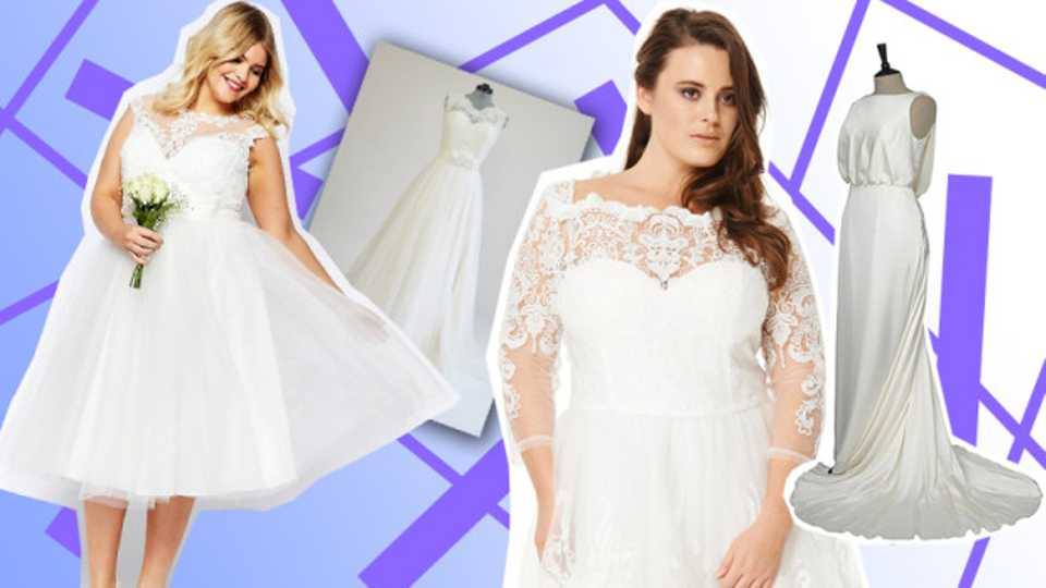 10 Of The Best \'Plus Size\' Wedding Dresses | Grazia