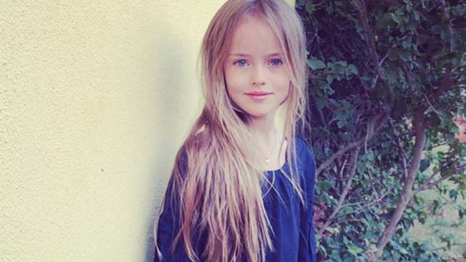 Kristina pimenova is a nine year old supermodel and its worrying no judgement but should a nine year old be exposed to appearance trolling on an international scale thecheapjerseys Images