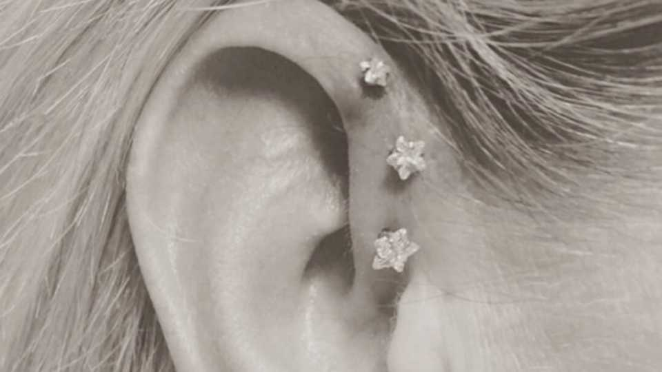 Ear piercings your definitive guide grazia from all the different types of ear piercings were talking tragus helix and daith your need to know on aftercare prices and infections and even some ccuart Choice Image