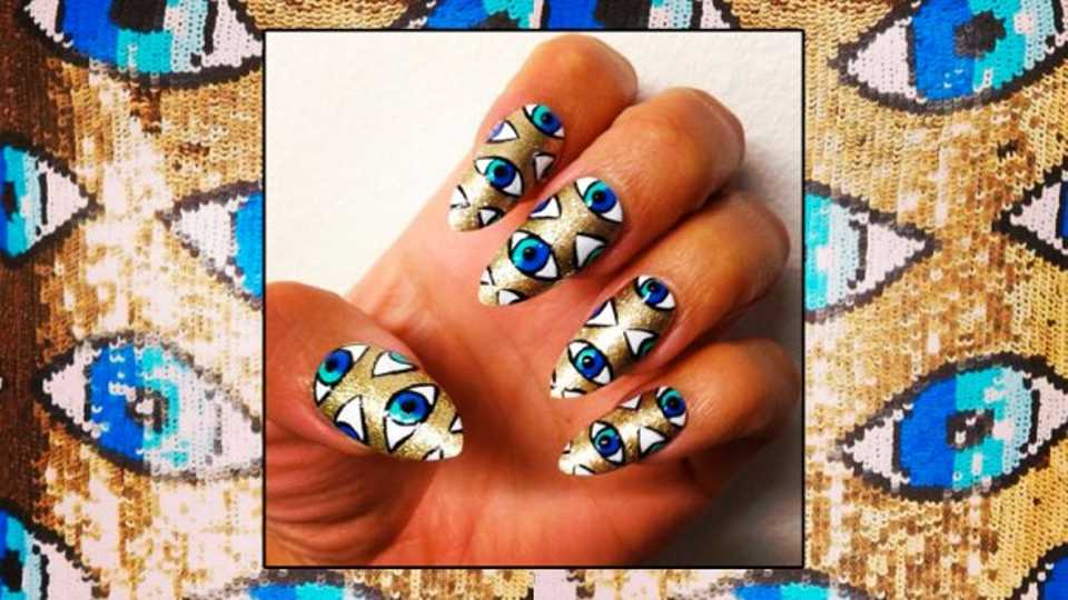 Loving Lily Allens Nail Art Heres Some Tips From The Woman Behind
