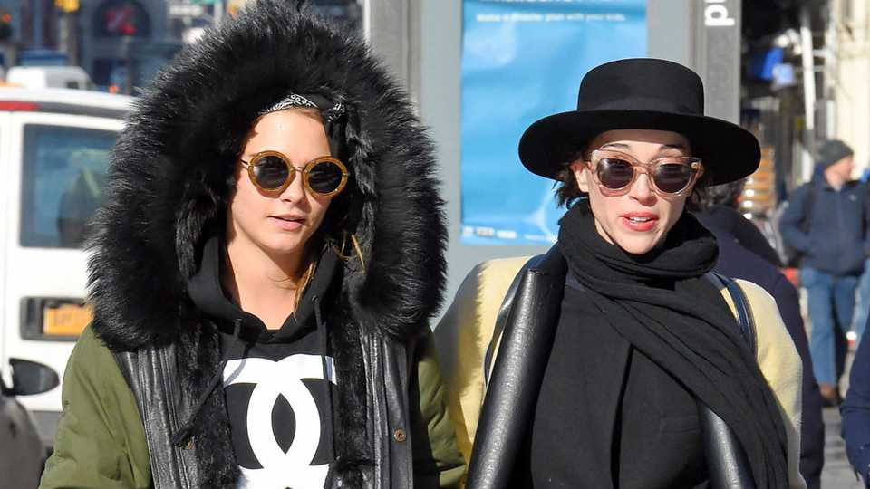 So Who Is Cara Delevingne's 'New Girlfriend' St Vincent?