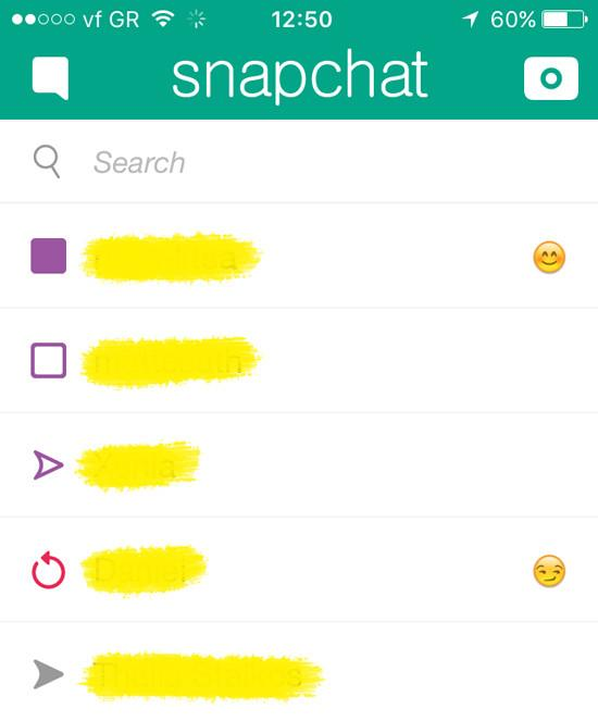 What do the purple emojis mean on snapchat