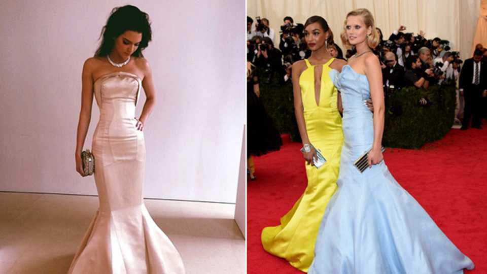 How You Can Own Kendall Jenner\'s Topshop Met Ball Dress | Grazia