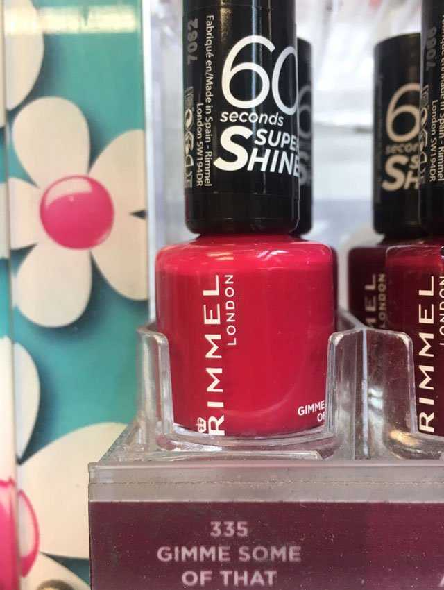 Can We Talk About How Weird Nail Varnish Names Are? | Grazia