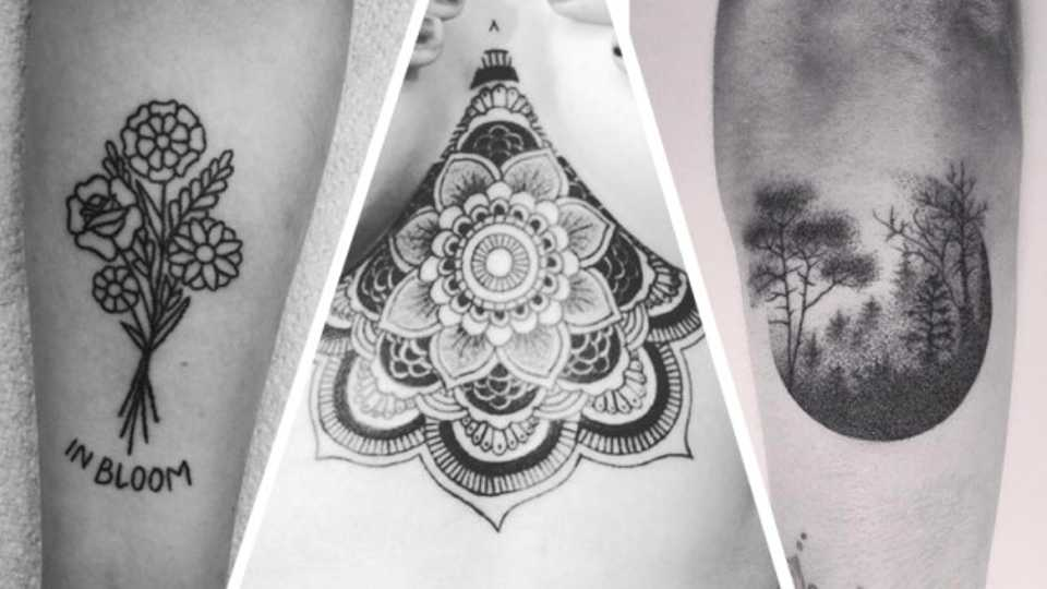 11 amazing hand poked tattoos that you 39 ll want right now grazia. Black Bedroom Furniture Sets. Home Design Ideas