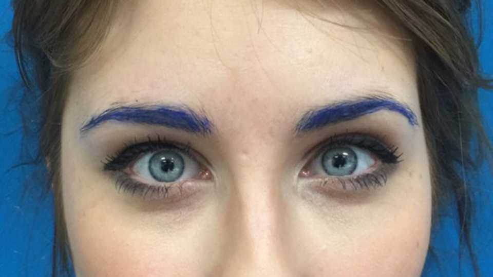Six Second Hacks How To Do Party Eyebrows Without Freaking Your