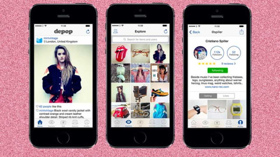ed903bff3a Depop Is The New App Where Bloggers Are Selling Off Their Wares
