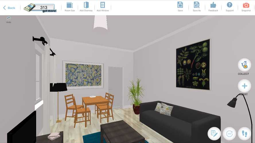 This Super Fun App That Lets You Design Rooms With IKEA Is Like Sims
