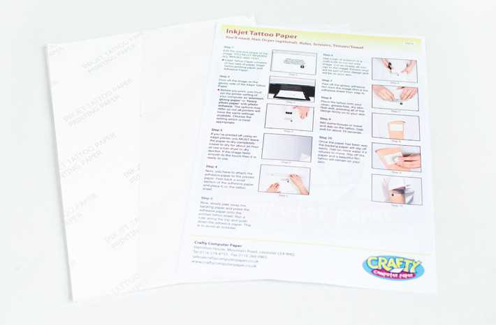 How to make your own tattoos without the pain grazia with this do it yourself printable tattoo paper you can have it all nb check if your printer is inkjet or laser before buying theres a specific paper solutioingenieria Images