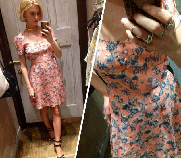 We Try On All The Floral Frocks In Miss Selfridge So You
