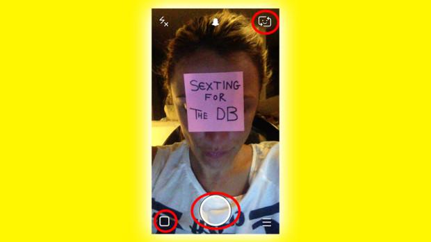 Find snapchat sexting
