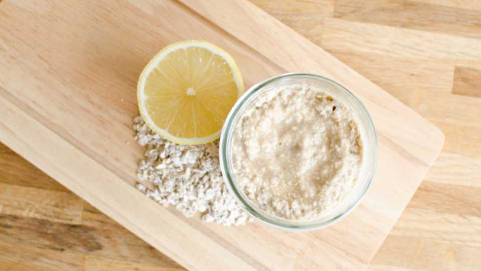 Image result for Lemon Oatmeal Scrub