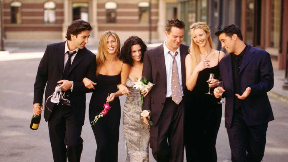 This 'Friends' Deleted Scene Has Gone Viral After Being Cut From The Show After 9/11