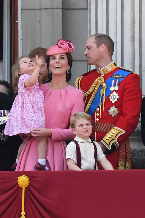 trooping the colour 2017 princess charlotte