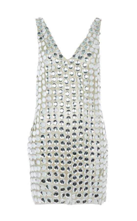 beaded party dress