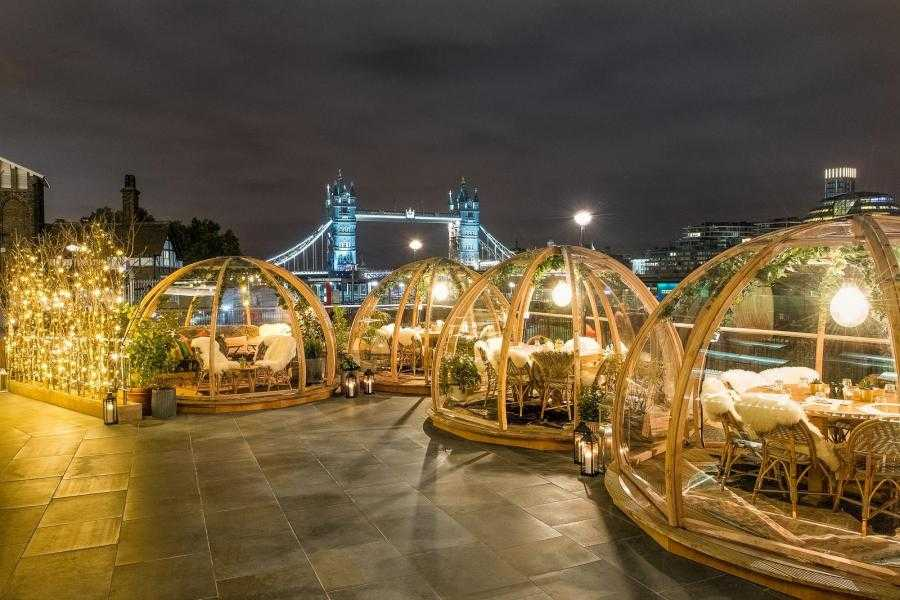 Coppa Club Igloos On The River