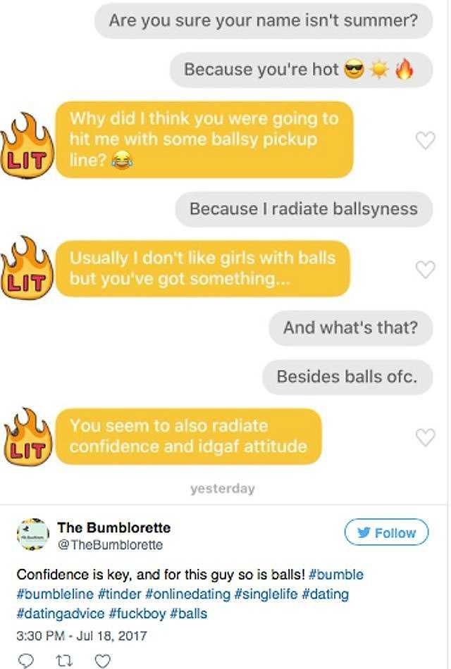 Good opening lines for bumble